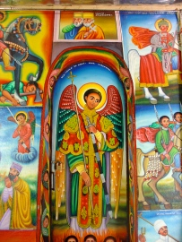 Lake Tana church paintings. Image: May Slater