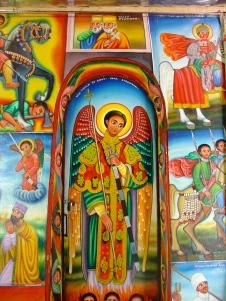 Lake Tana church paintings. Image: May Slater